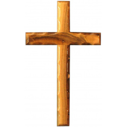 Large olive wood wall crosses