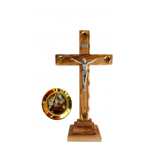Small Standing crucifix 14cm