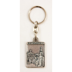 Nativity Church keychain