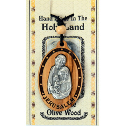 Holy Family necklace