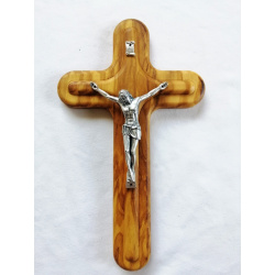Rounded Modern Crucifix