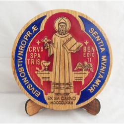 Tabletop St Benedict medal